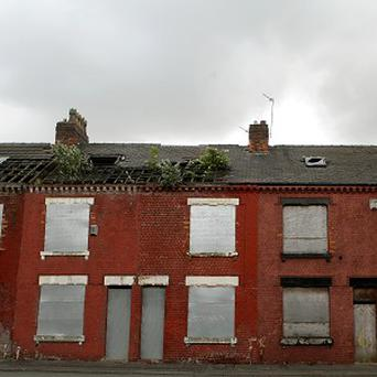 Among the main reasons why homes are empty include being offered for sale or being vacant for a long period of time, with no reason noted. Stock Image: PA