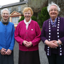 End of an era: Sr Mary Cuddy, Sr Mary Devine and Sr Mary Teresa Killelea at the Sisters of Mercy Convent in Boyle, Co Roscommon, which is due to close Photo: Brian Farrell