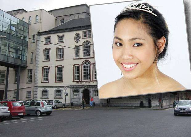 Denisse Kyle Dasco was rushed to Mercy Hospital in Cork where she was pronounced dead