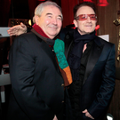 Harry Crosbie with Bono