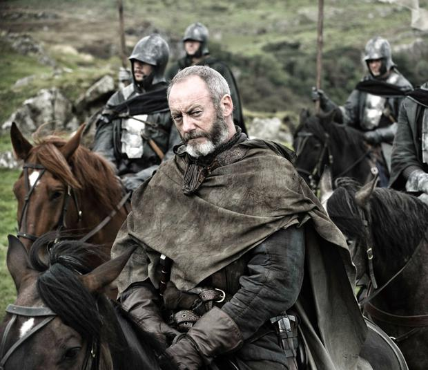 How much? Liam Cunningham, who plays Davos in 'Game Of Thrones', has been quick to pour cold water on reports from LA that stars secured salaries of between €1m and €2m per episode by quipping; 'It's not the civil service'