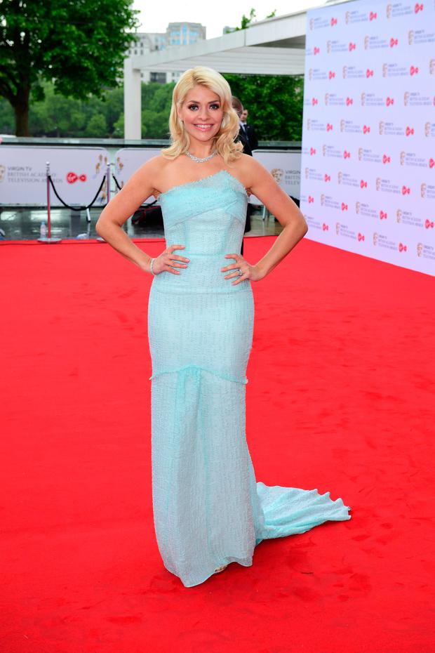 Holly Willoughby arriving for the Virgin TV British Academy Television Awards 2017 held at Festival Hall at Southbank Centre, London. Photo: PA