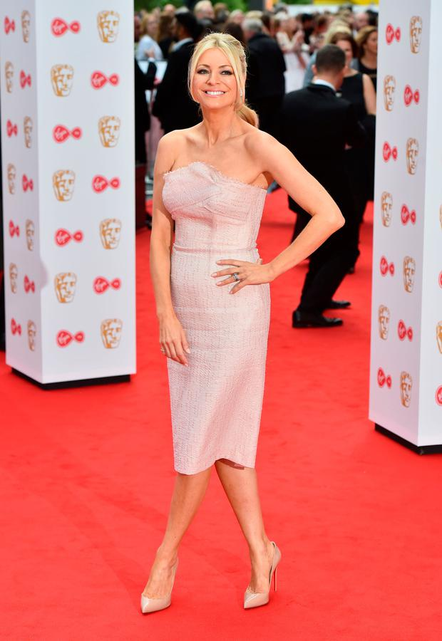 Tess Daly arriving for the Virgin TV British Academy Television Awards 2017 held at Festival Hall at Southbank Centre, London. Photo: PA