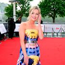 Laura Whitmore arriving for the Virgin TV British Academy Television Awards 2017