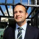 Leo Varadkar: 'benefiting from leaks'. Photo: Tom Burke