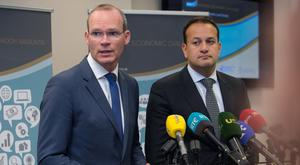 Simon Coveney and Leo Vardkar
