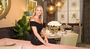 TRES CHIC: Angelina Ball of Terenure on the Phoenix Interior Design stand at House 2017 at the RDS