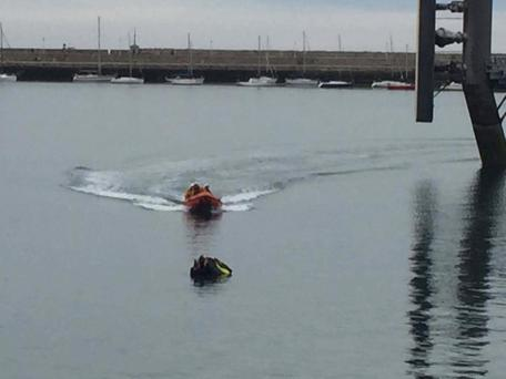 Dun Laoghaire Coast Guards were called to the scene Photo: DL Coast Guards