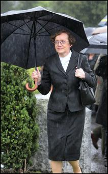 Máire Whelan: Stayed in room as appointment was discussed