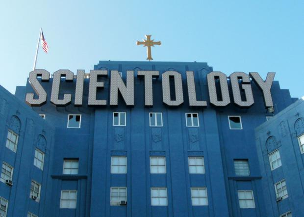 The Church of Scientology building in Los Angeles (Stock picture)