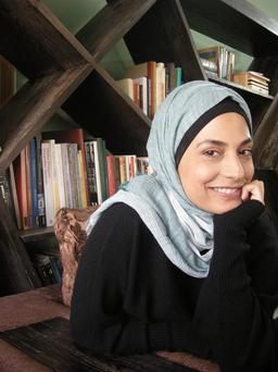 Marwa al-Sabouni from Syria gives a talk today