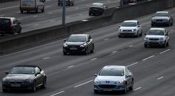 'Meanwhile, the costs of motor insurance also rises inexorably. The cost of claims' pay-outs soared by almost a quarter between 2011 and 2016. And for every €100,000 paid out, there was another €40,000 in legal fees' Stock photo: PA