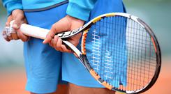 """When asked if he could ever love tennis, Tomic replied: """"No, I just go about it as a job.""""(Stock picture)"""