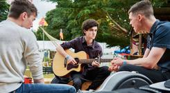 Making music at the Carrickmacross Arts Festival, which runs from August 10 - 13