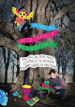 Ceol Connected's 'The Quiet Tree', which is part of the line-up at Tradoodle