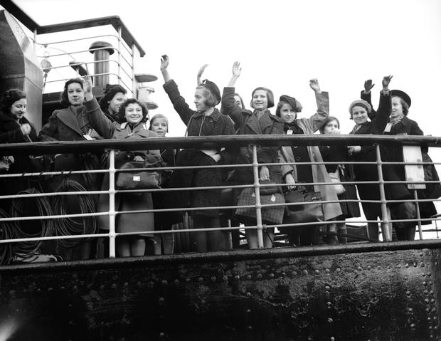 German jews arriving in England before the start of WWII, yet estimates put the number of Jewish refugees allowed into Ireland at that time at less than 50