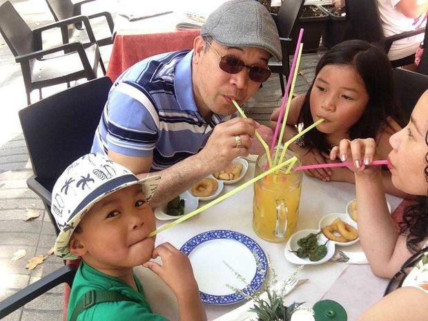 Norman Potot (45) with his wife, Pearly Fernandez Potot (39) and his two children Nailah Pearl Potot (9) and Nathaniel Paul Potot (5).