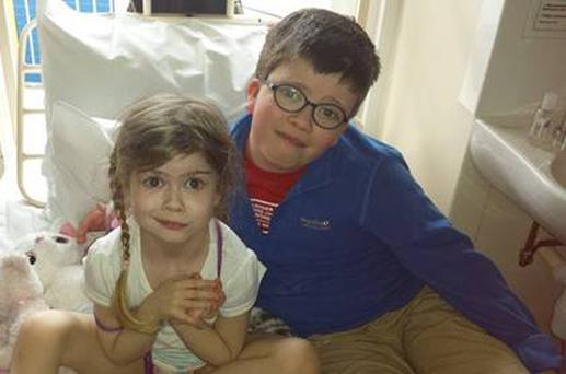 Olivia Daly underwent vital treatment for a huge mass on her liver at just four years old