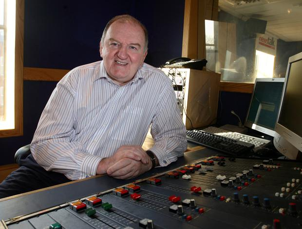 Broadcaster George Hook. Photo: Mark Condren