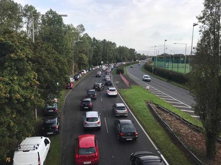 Dublin Marathon has been delayed due to traffic build up