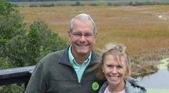 American tourists Jim and Deb Baker Photo:GoFundMe