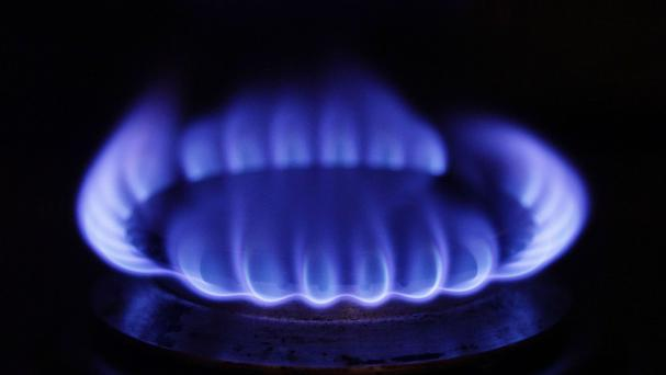 Gas supplies throughout the west of Ireland are back on following a safety alert at the end of last week. Stock photo: PA