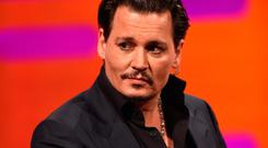 Top: Hollywood actor Johnny Depp