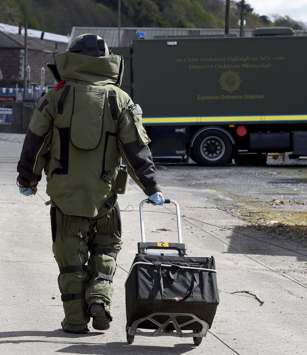Defence Forces Bomb Disposal Team (Stock photo)