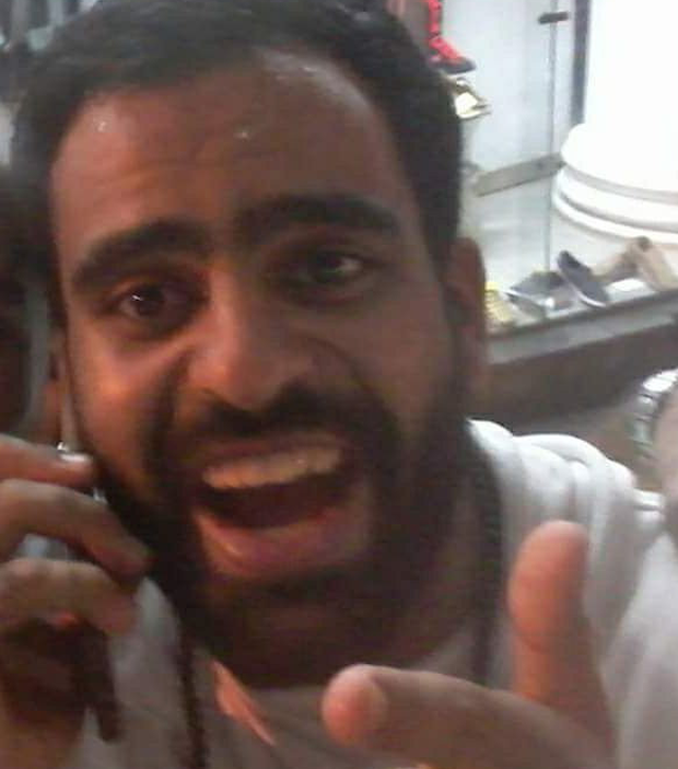 The new image of Ibrahim Halawa posted last night