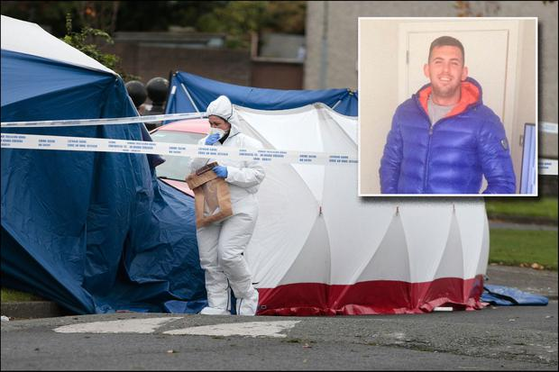 Victim Jamie Tighe Ennis (24) who was shot on a footpath on Moatview Avenue, Coolock