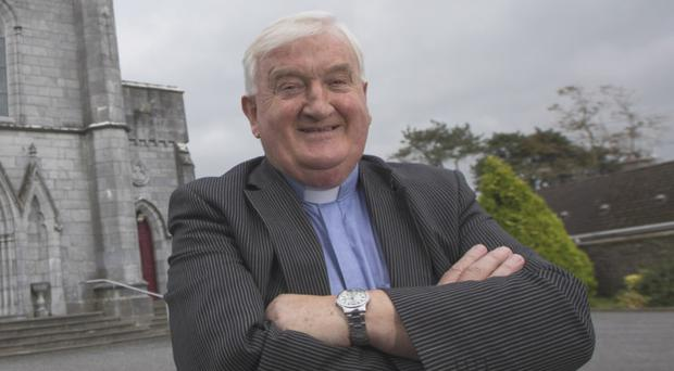 Fr Tommy Murphy, who is due to speak to his parishioners in St Patrick's Church in Ballyragget, Co Kilkenny, today. Photo: Fergal Philips