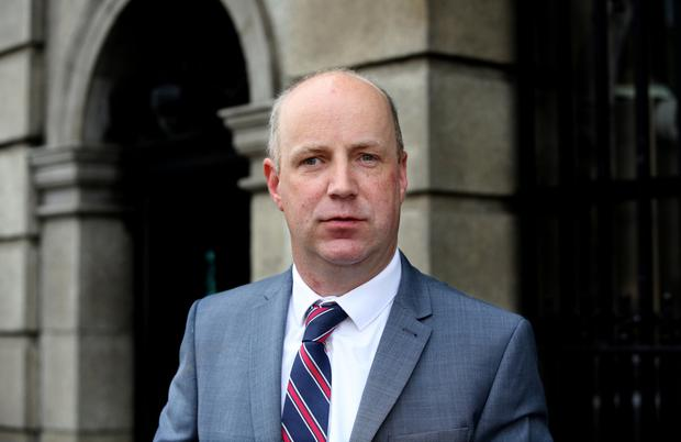 JIM DALY: Wrote to Central Bank as scandal was unfolding