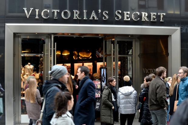 Bringing sexy back: The Victoria's Secret store after it opened on Dublin's Grafton Street