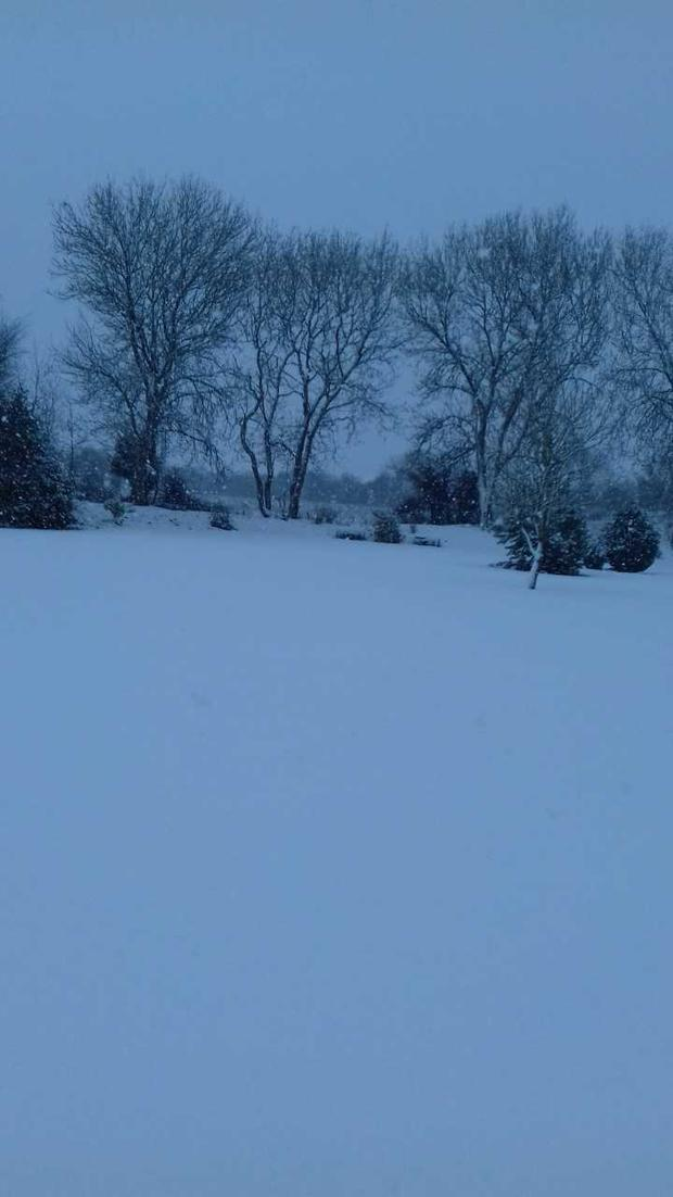 Snow in Ballymacallen Ballymore, Westmeath
