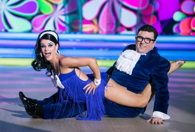 Dessie and Karen on Dancing With the Stars