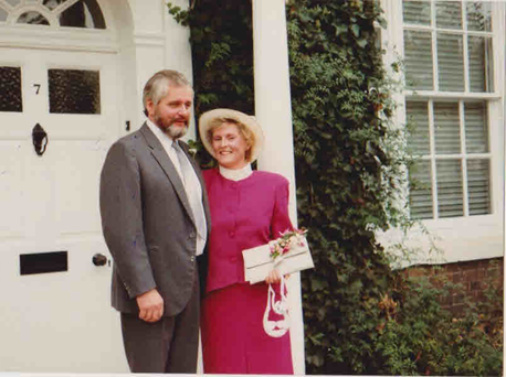 Richard Steer with his wife Susan