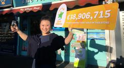 Amy Cong, owner of The Village Shop in Malahide Photo: Mark Condren