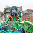 St Patrick float