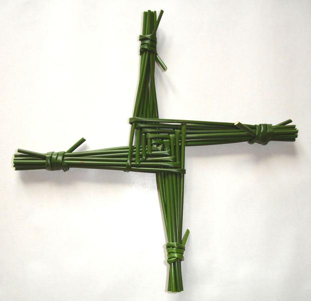We might lovingly recall our days in school, making a Brigid's cross and look back on it merely as a class exercise. But we would be wrong to assume that is all Brigid has to give.