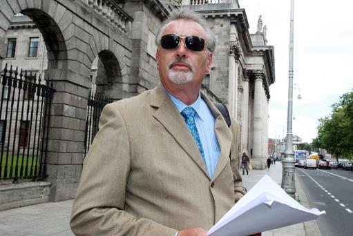 Ian Bailey has protested his innocence for 20 years, but could face trial in France in his absence. Picture: Courtpix