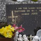 The grave of Kerry Baby named John in Caherciveen Co Kerry.