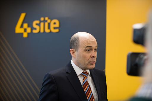 Denis Naughten will discuss the future of broadband today. Picture: Sean Curtin