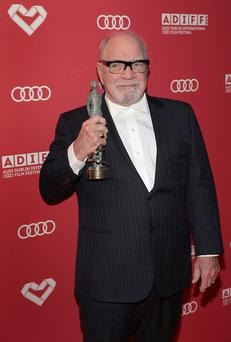 Director and screenwriter Paul Schrader won the Volta Award. Picture: Brian McEvoy