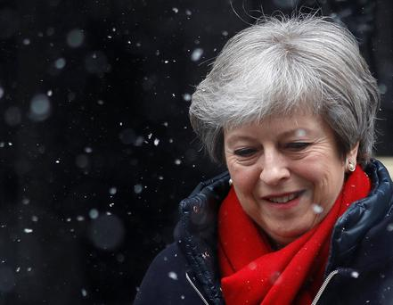 British Prime Minister Theresa May Picture: REUTERS/Peter Nicholls