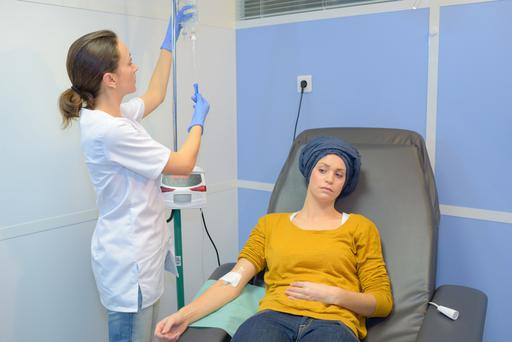 CANCER: Treatment is painful and unpleasant — chemotherapy, radiation and usually surgery. Stock picture