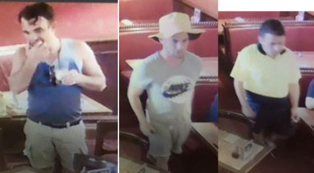 Australian police have released images of the suspects believed to be Irish Photo: Queensland police