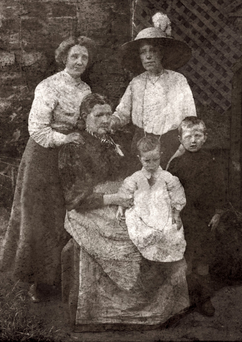 Eugene Lynch with his family