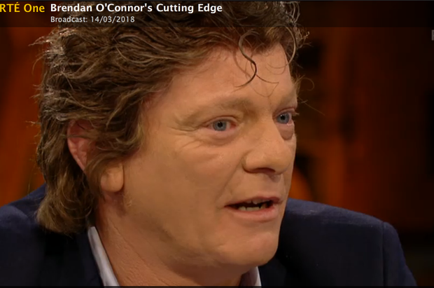 Niall Boylan Photo: Screengrab RTE