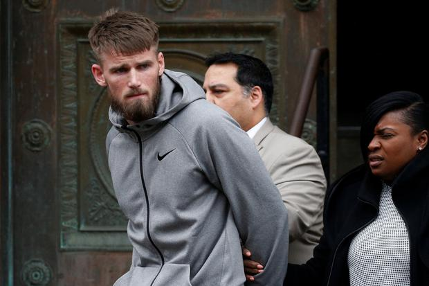 Cian Cowley was arrested with Conor McGregor