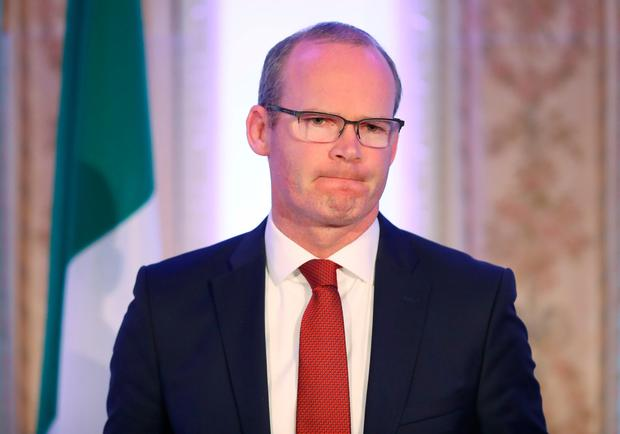 Restraint: Simon Coveney. Photo: PA